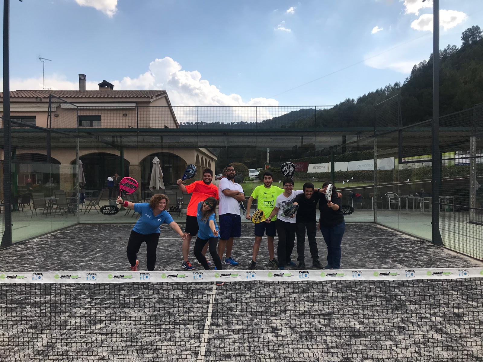 VOLUNTARIS LA CAIXA - PADEL 1